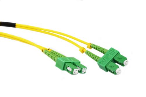 15M OS1 Singlemode SCA-SCA Fibre Optic Cable