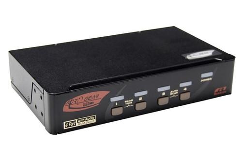 Rextron 4 Port Displayport + USB  KVM Switch