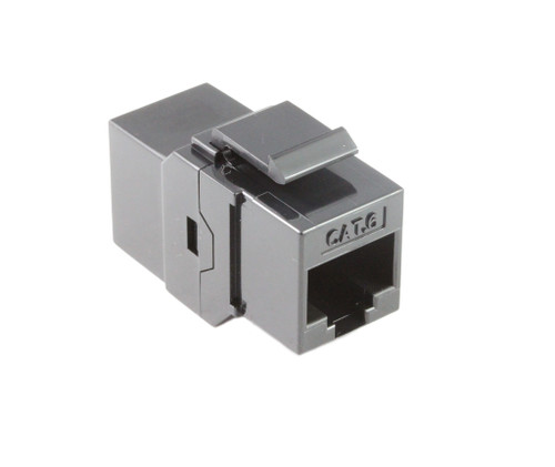 CAT6 Keystone Inline Coupler ( Black )