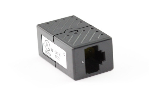 CAT6 Inline Coupler/Joiner in Black