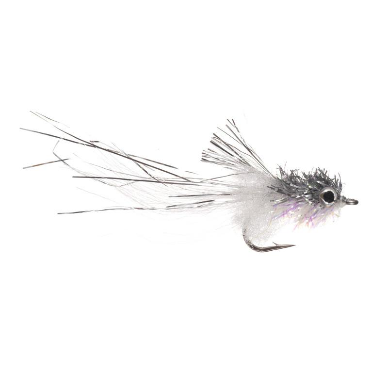 Murdich Mini Minnow Gray and White