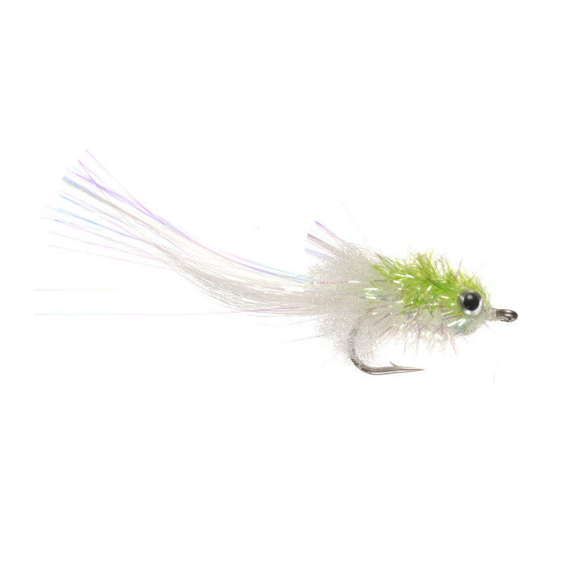 Murdick Mini Minnow Chartreuse and White