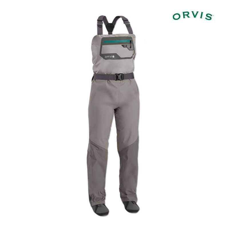 Orvis Women's Ultralight Convertible Wader Shown in Chest High Position