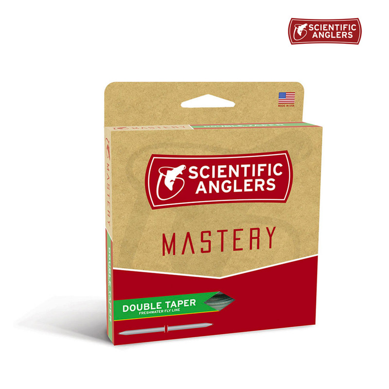 Scientific Anglers Mastery Double Taper Fly Line in the Box