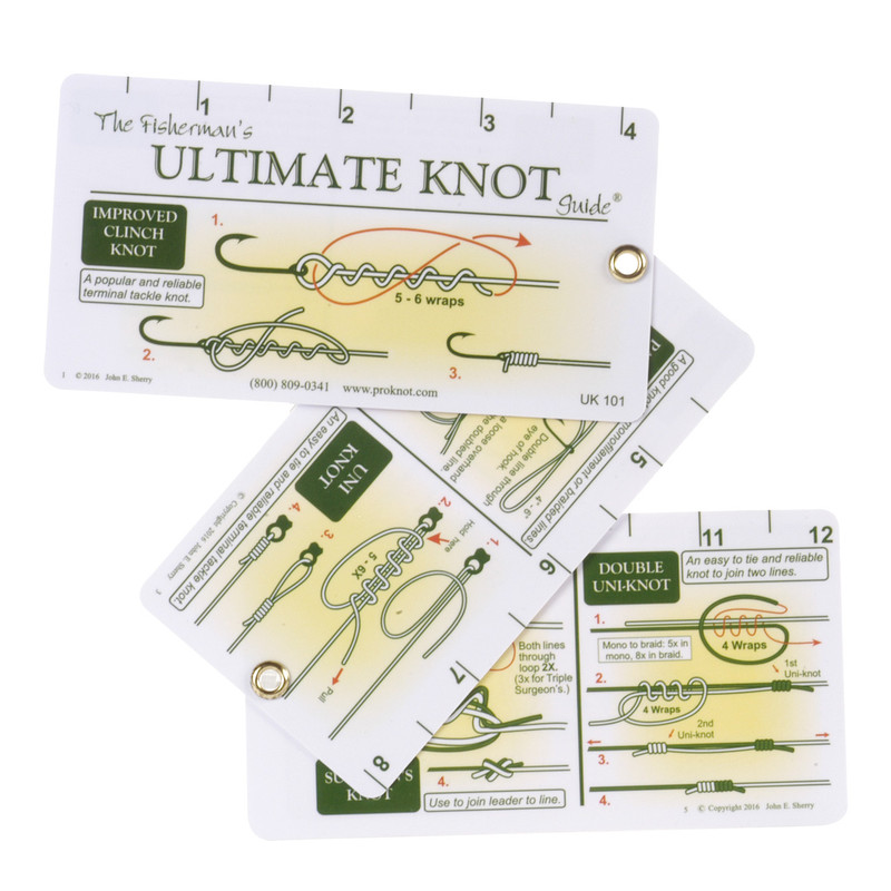 Fisherman's Ultimate Knot Guide Front View Open Pages