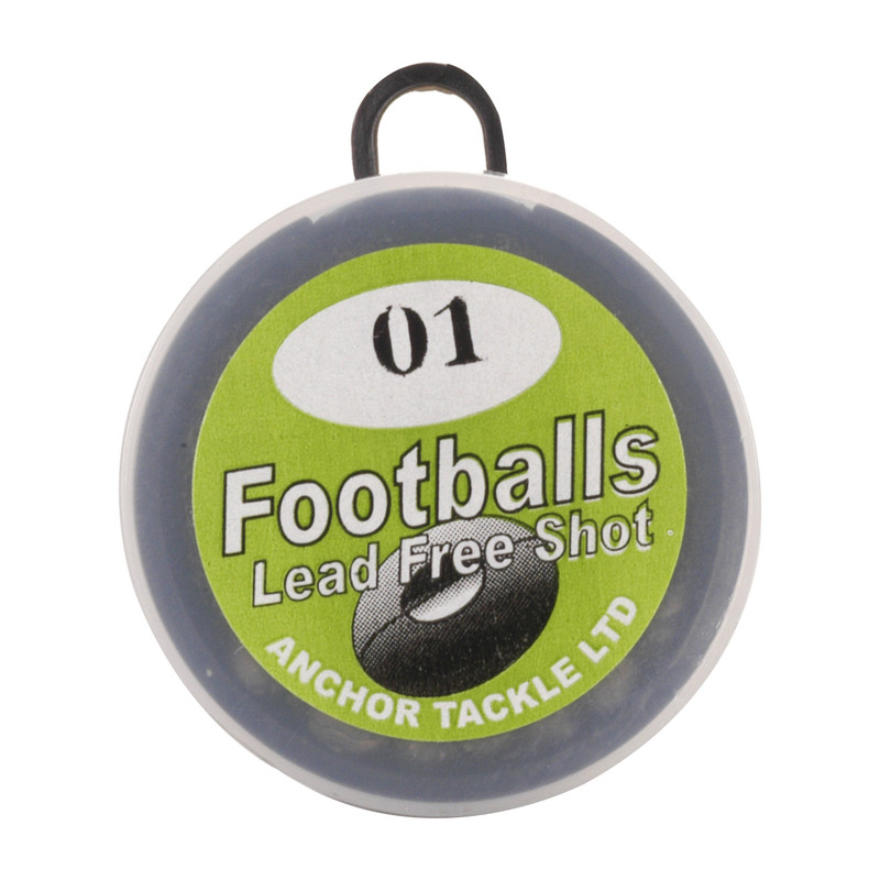 Anchor Non-Toxic Football Split Shot Refill Package