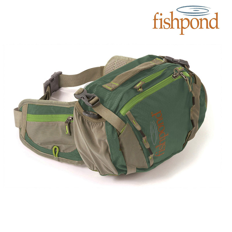 Fishpond Encampment Lumbar Pack in the Color Tortuga
