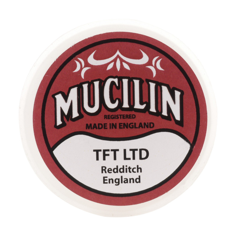 Mucilin Red Line, Leader and Fly Floatant Top View