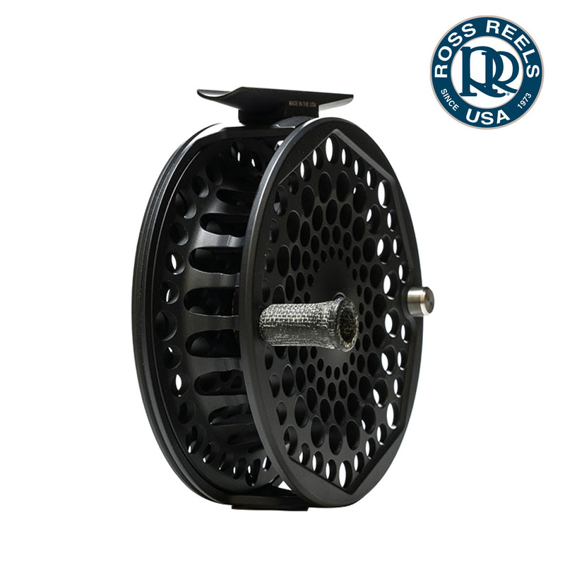 Ross Gunnison Fly Fishing Reel Side and Front View