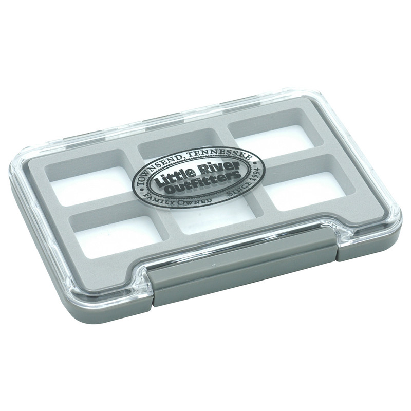 LRO Thin Waterproof Compartment Fly Box 1326  Top View