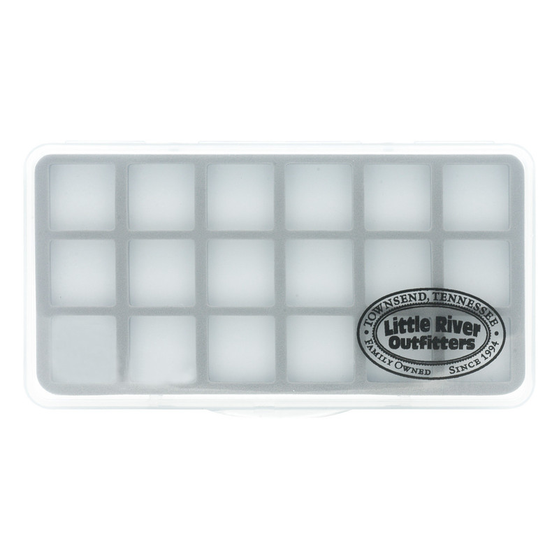 LRO Slim 18 Compartment Fly Box 1422 Top View