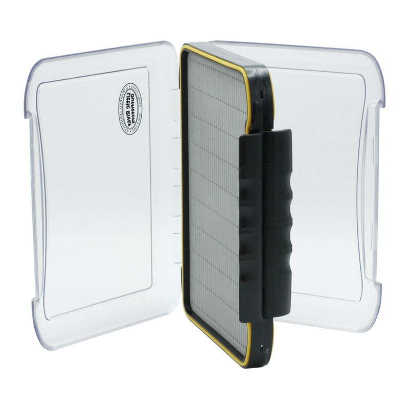 LRO Super Magnum Waterproof Boat Fly Box 1271 Shown with Both Lids Open
