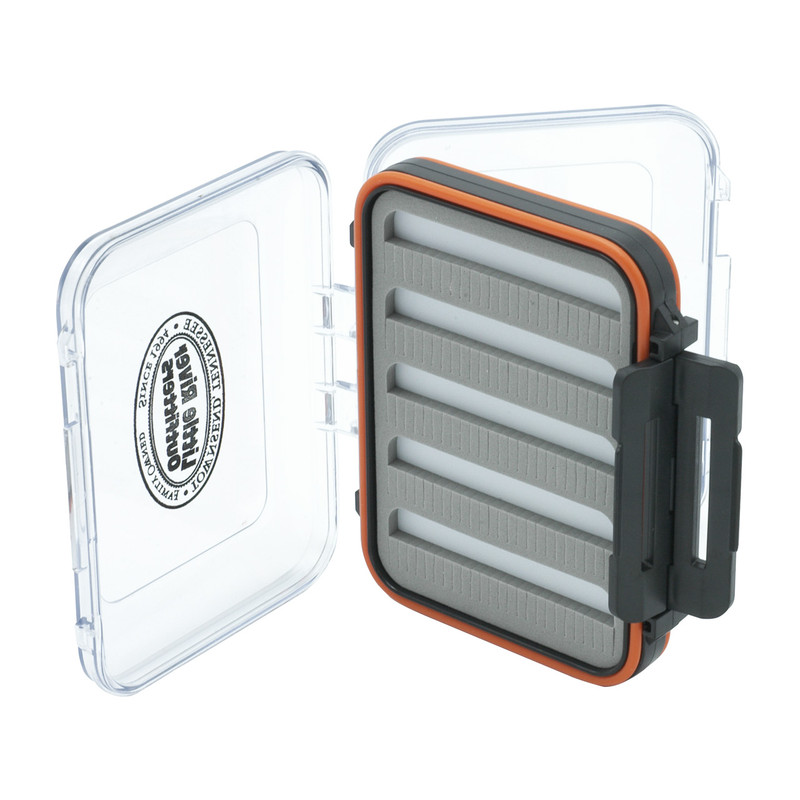 LRO Double Sided Waterproof Fly Box 1450 Shown With Both Sides Open