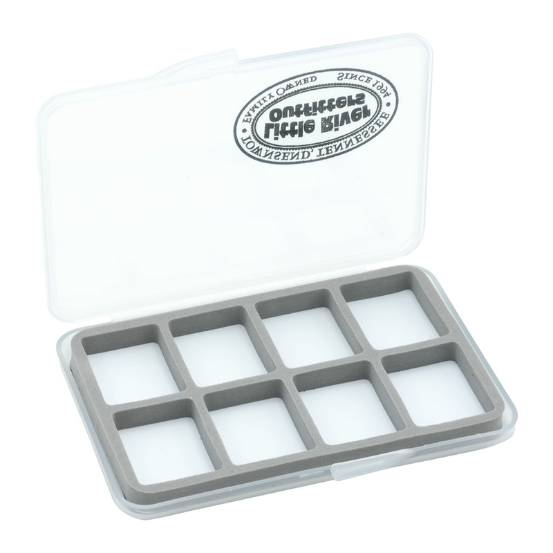 LRO Slim 8 Compartment Fly Box 1425 Shown Open