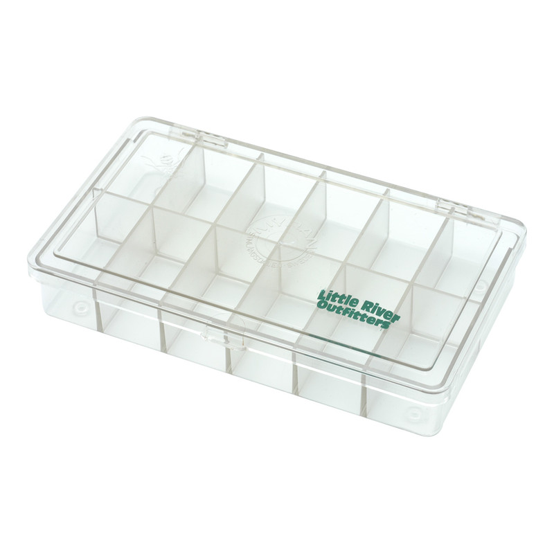LRO Myran 12 Compartment Fly Box 1200 Shown Closed