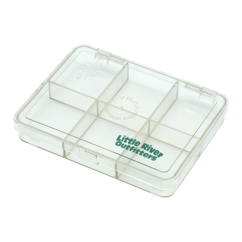 LRO Myran 6 Compartment Fly Box 1060 Shown Closed