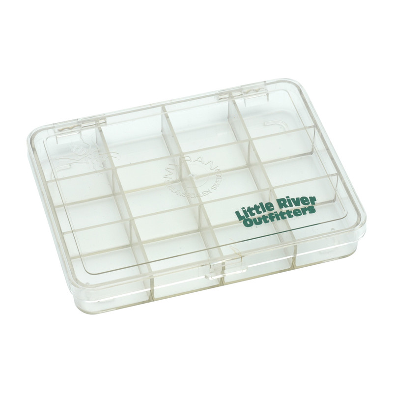 LRO Myran 12 Compartment Fly Box 1120 Shown Closed