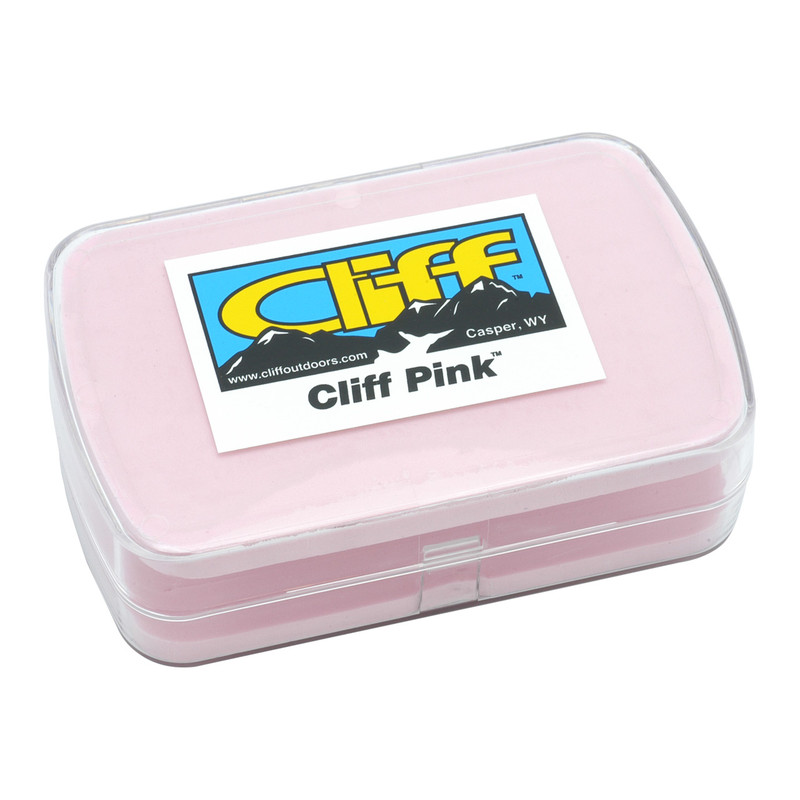 Cliff Pink Streamer Fly Box Shown Closed