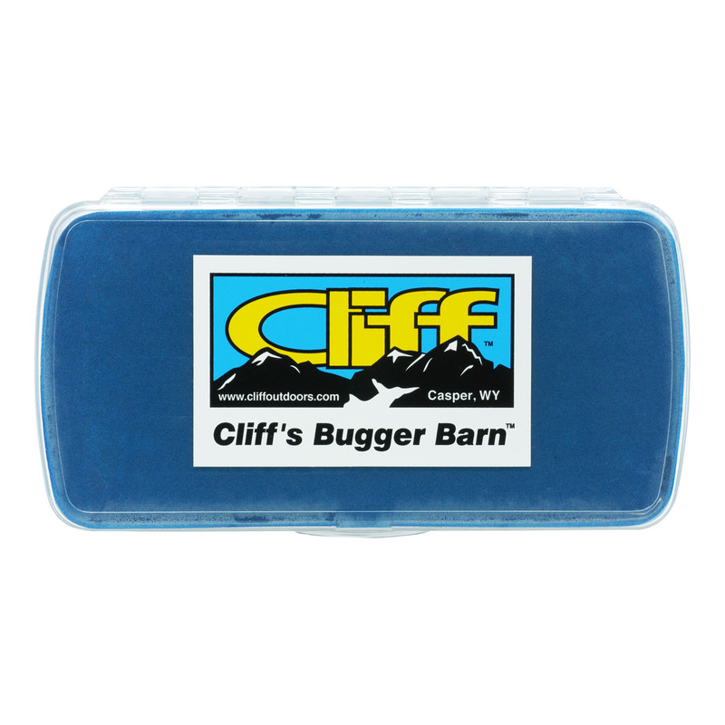 Cliff The Bugger Barn Fly Box Top View