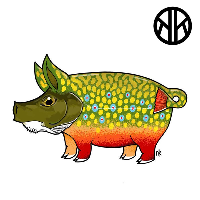 Nate Karnes Pig Brookie