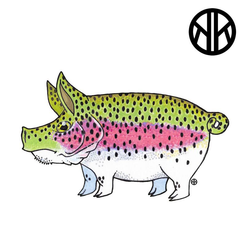 Nate Karnes Pig Rainbow