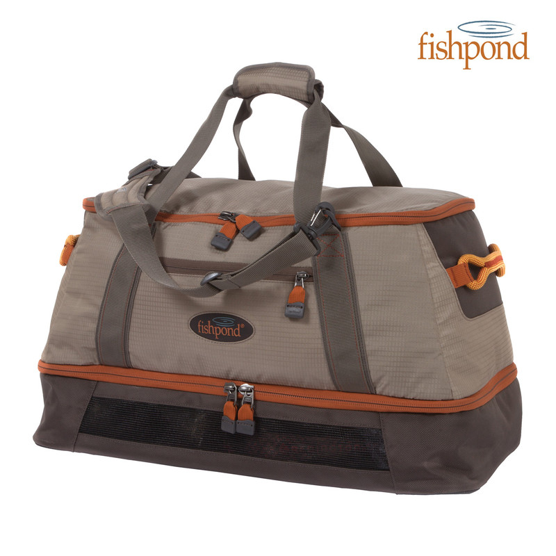 Fishpond Flattops Wader Duffel Front View