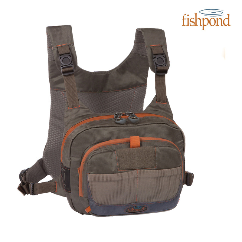 Fishpond Cross-Current Chest Pack Front View