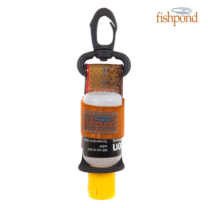 Fishpond Floatant Bottle Holder Shown Loaded
