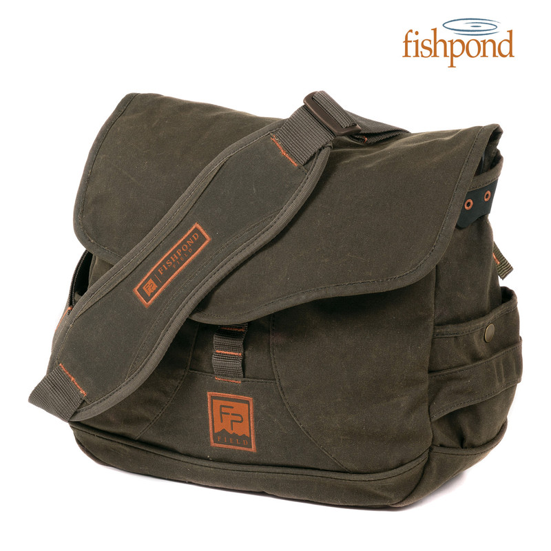 Fishpond Lodgepole Satchel front view.