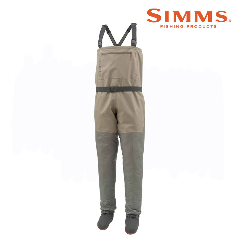 Simms Men's Tributary Stockingfoot Wader Front View