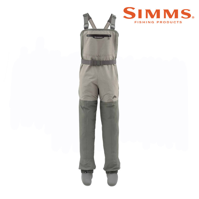 Simms Women's Freestone Stockingfoot Wader Front View
