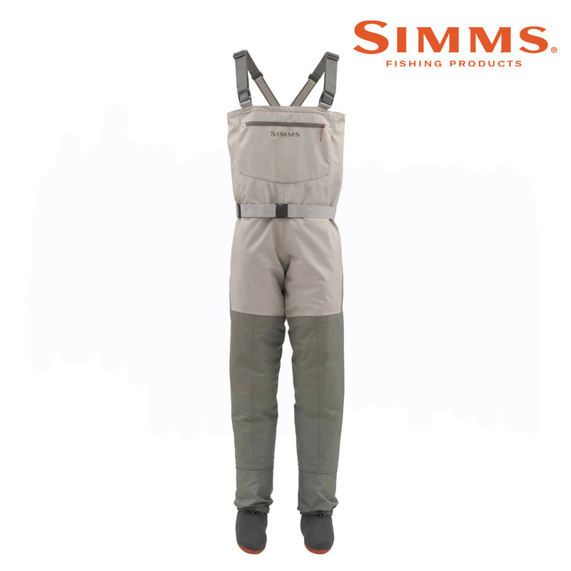 Simms Women's Tributary Stockingfoot Wader Front View