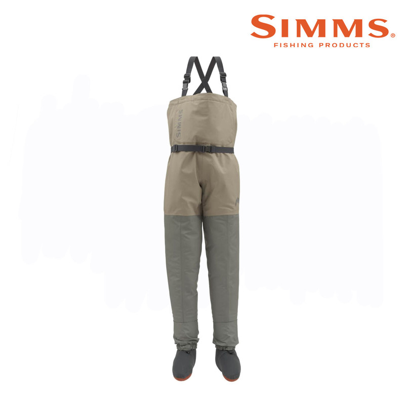 Simms Kid's Tributary Stockingfoot Wader Front View