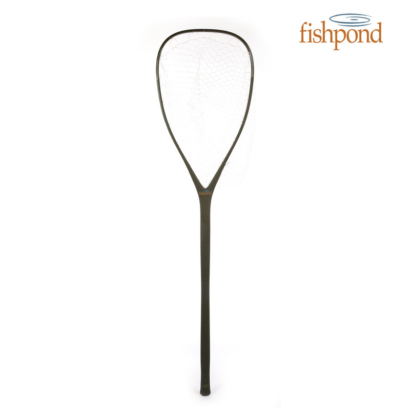 Fishpond Nomad El Jefe Landing Net and the Fishpond Logo