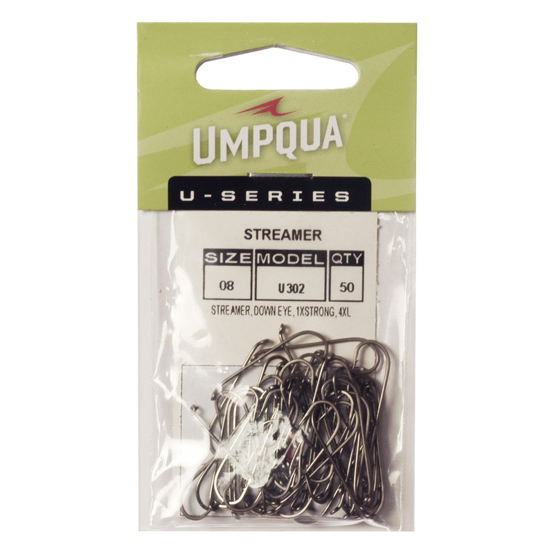 50-Pack of Umpqua U-Series U302 Streamer Hooks