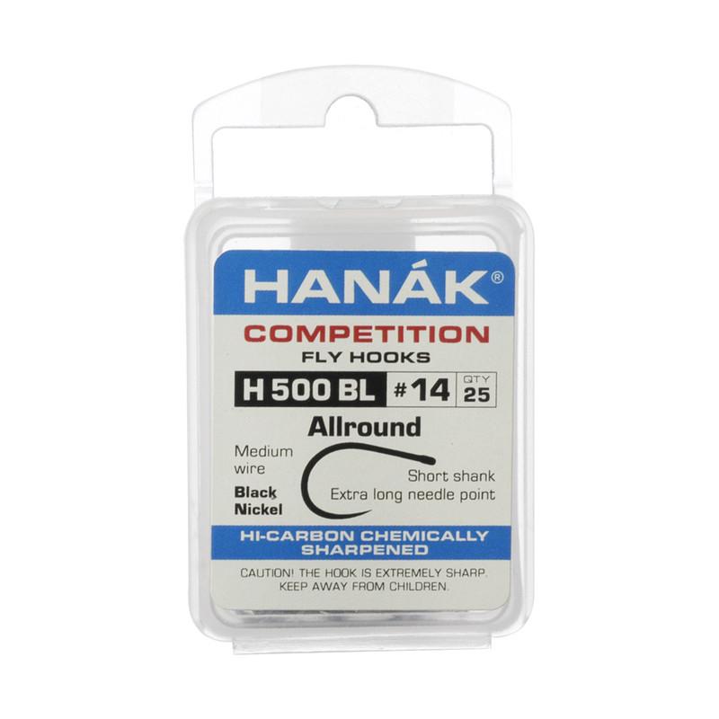 25-Pack of Hanak H500BL Barbless Allround Hooks