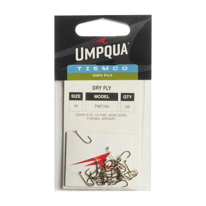 25- Pack of Tiemco TMC 100 Standard Dry Fly Hooks