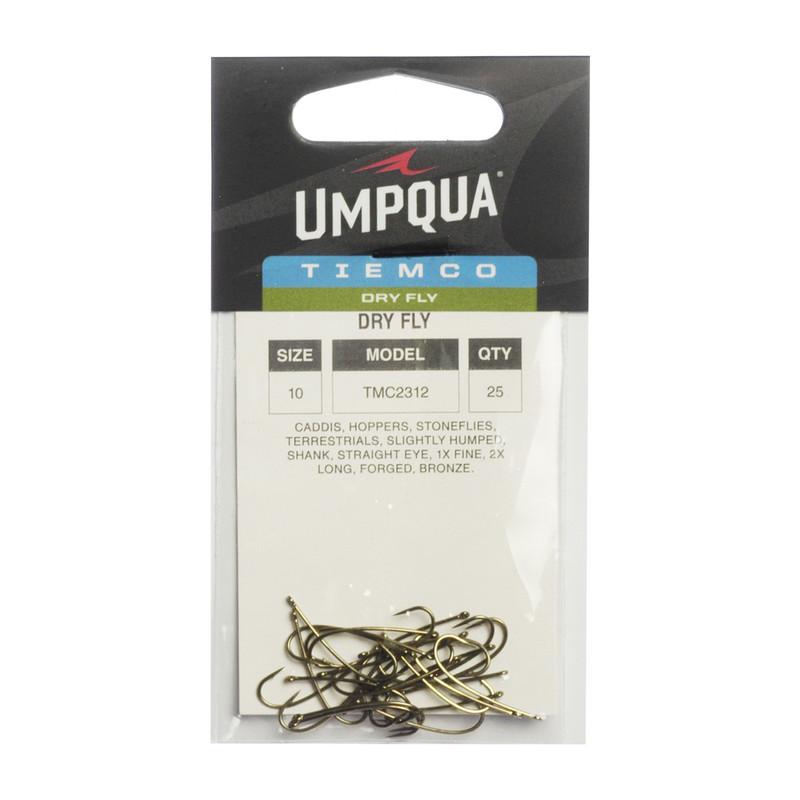 25-Pack of Tiemco TMC 2312 Long Dry Fly Hooks