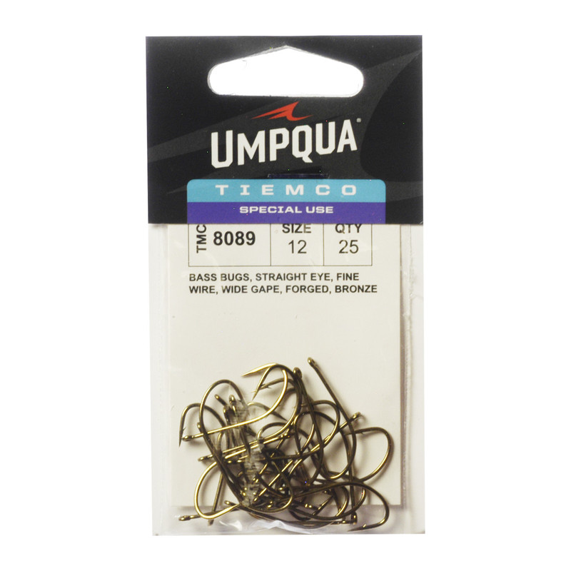 25-Pack of Tiemco TMC 8089 Bass Bug Stinger Hooks
