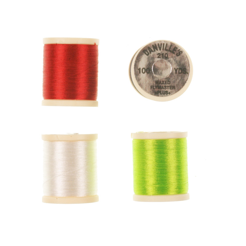 Four Spools of Danville Flymaster Plus 210 Denier Fly Tying Thread