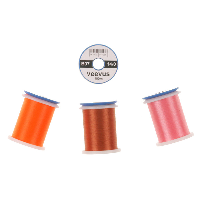 Four Spools of  Veevus 14/0 Fly Tying Thread