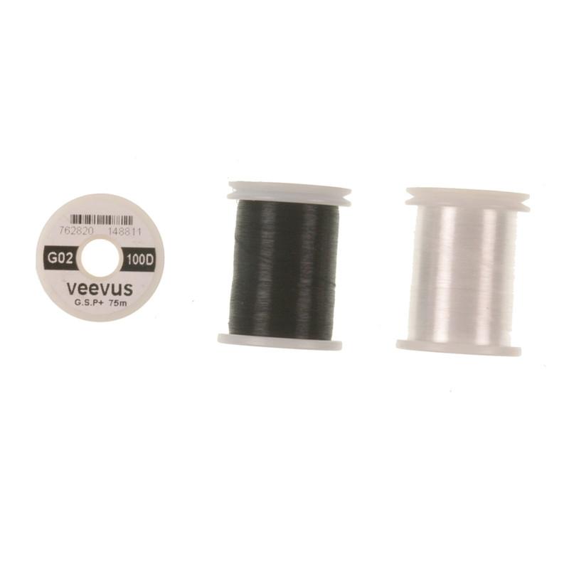 Three Spools of Veevus 100 Denier GSP Fly Tying Thread