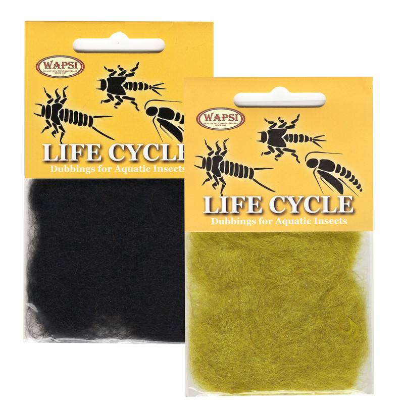 Two Packs of Wapsi Life Cycle Dubbing