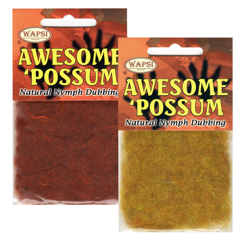 Two Packs of Wapsi Awesome Possum Dubbing