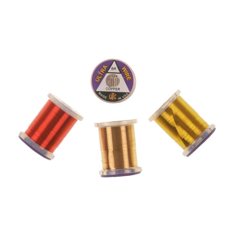 Four Spools of UTC Ultra Wire Brassie