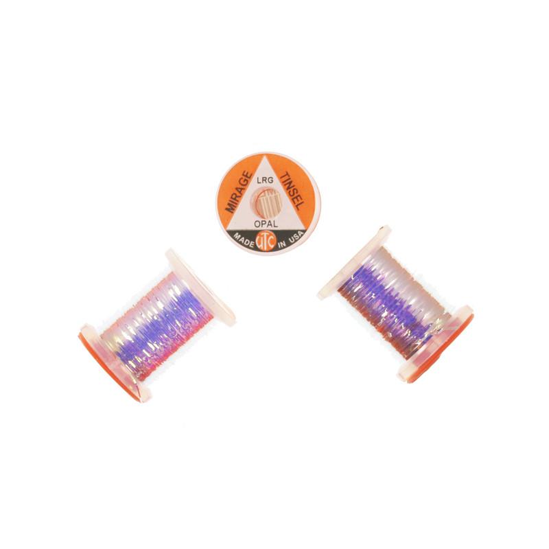 Three Spools of Wapsi UTC Mirage Opal Tinsel
