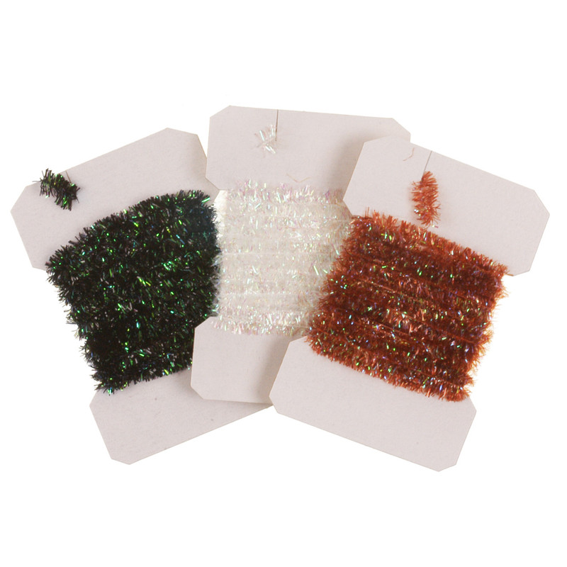 Three Cards of Pearl Chenille Medium