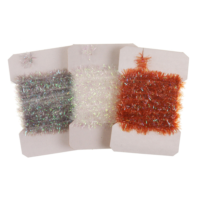 Three Cards of Pearl Chenille Large
