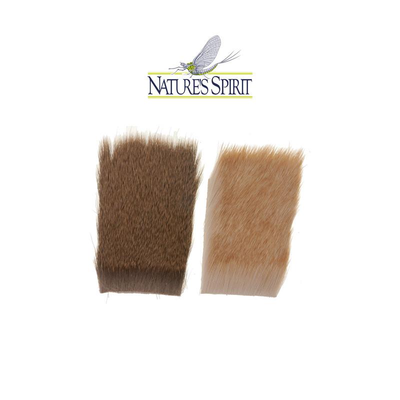 """Two Pieces of Natures Spirit Comparadun Deer Hair 2"""" x 3"""""""