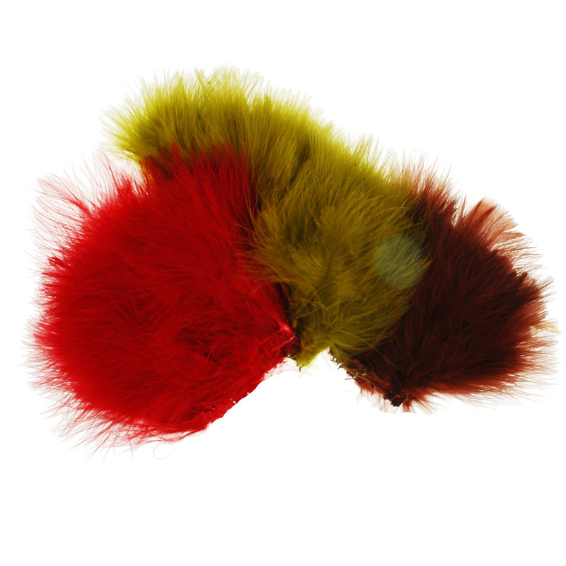Three Hanks of Strung Marabou